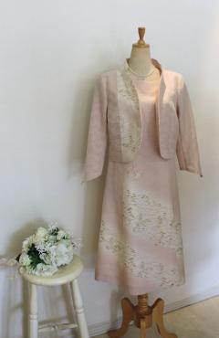 夏のお着物のリメイク・・・和ドレススーツ