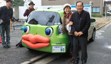東京FM ルーシーさんがプチェコに乗って来てくれました!
