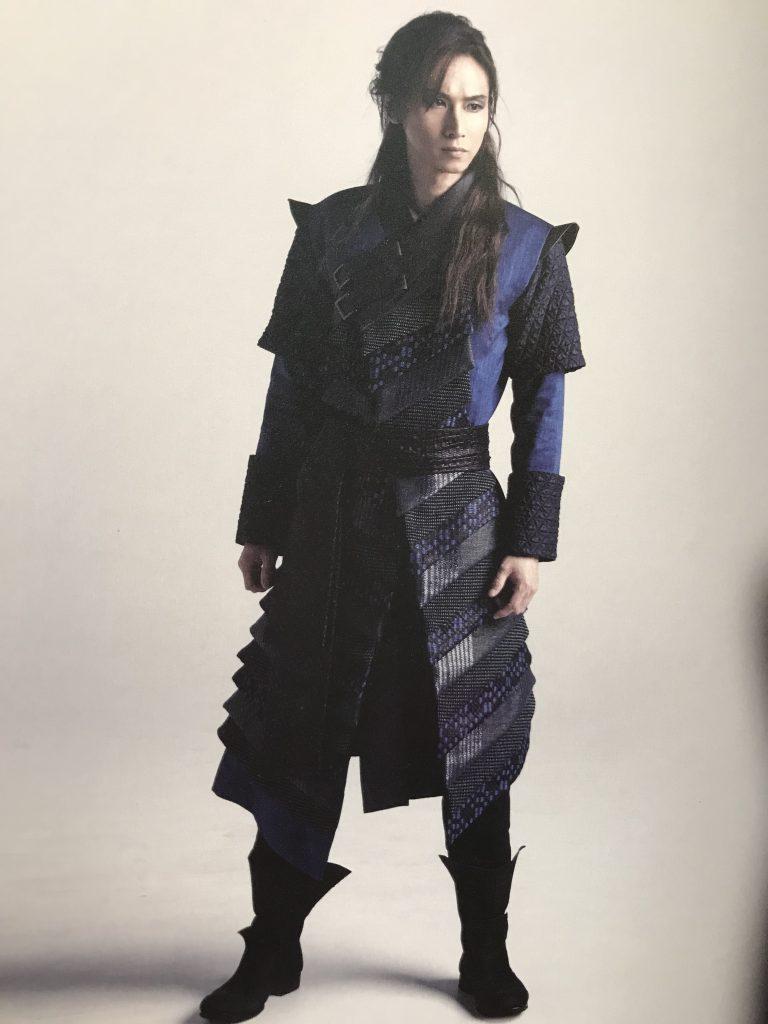 堂本光一&井上芳雄の舞台衣装に日本の着物地
