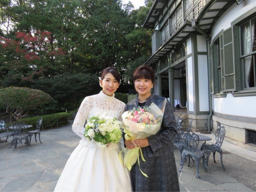 花嫁のお母様の衣装
